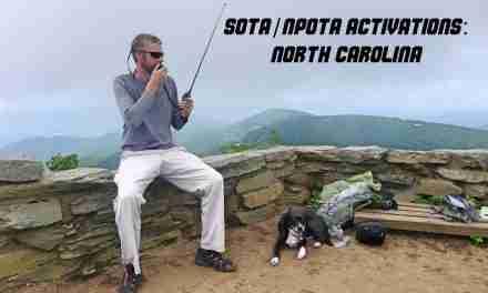 SOTA: 9 North Carolina Activations in 4 days