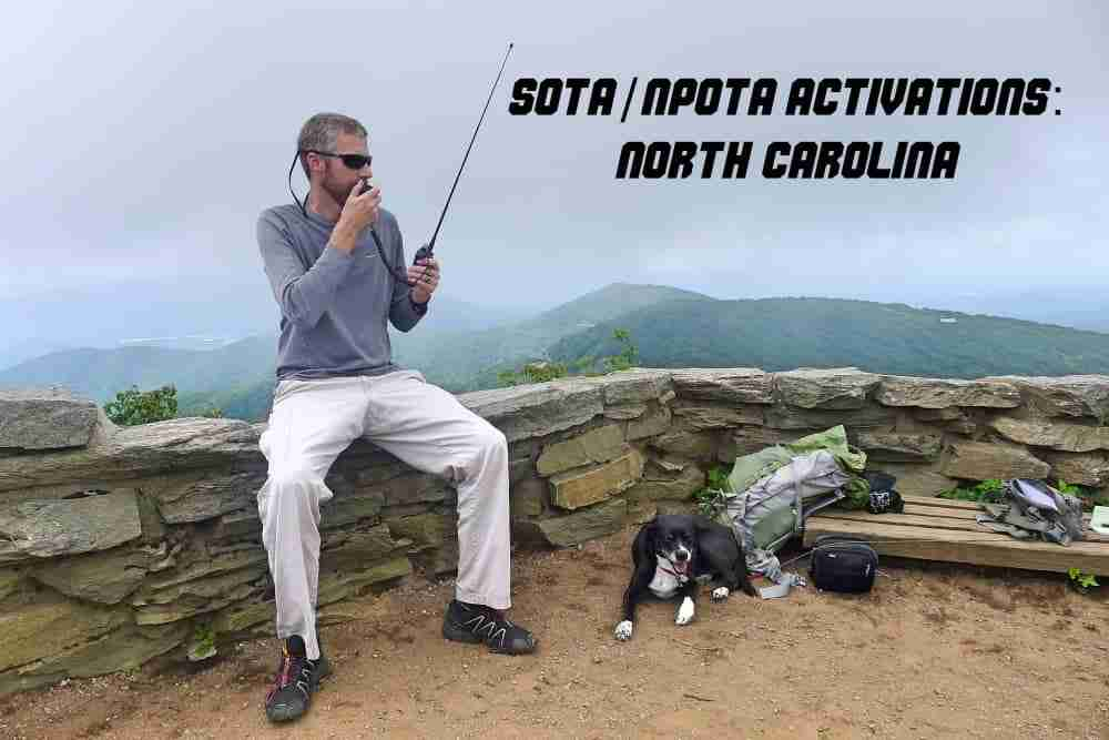 SOTA: 9 North Carolina Activations in 4 days