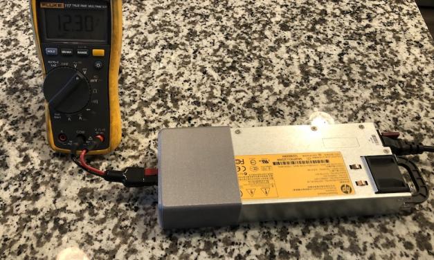 $30 DIY 60A Amateur Radio Power Supply