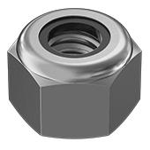 #10 Nylon Lock Nut