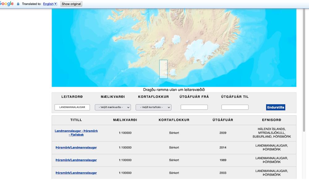 GIS map