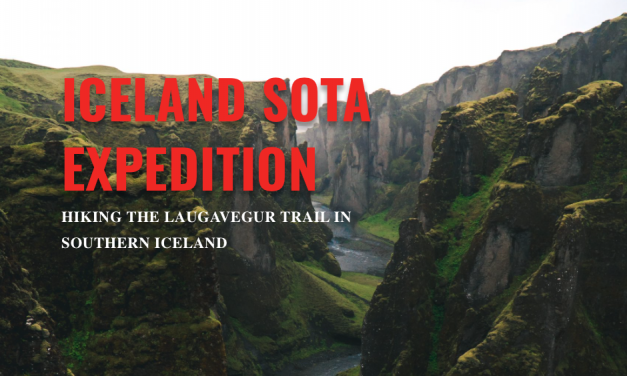 Iceland SOTA Expedition